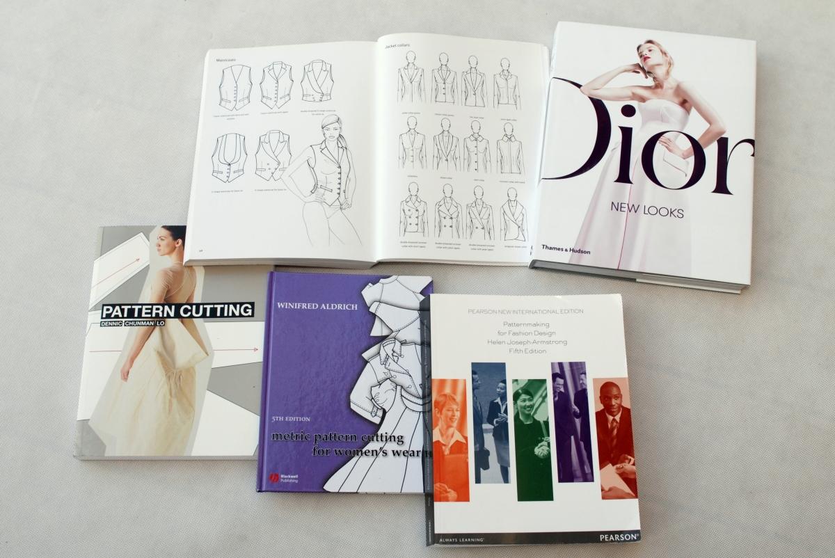Moje TOP 5 książek branżowych, czyli o konstrukcji odzieży inaczej